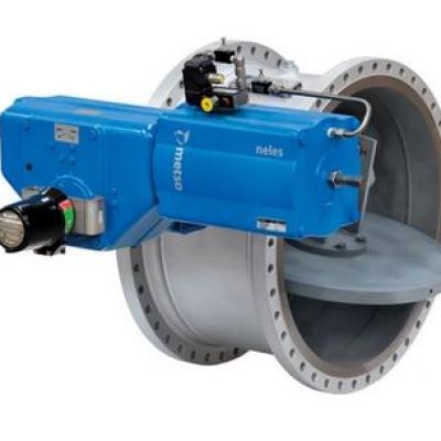 Neles™ three lever valve for Air Separation Units (ASU), series BH