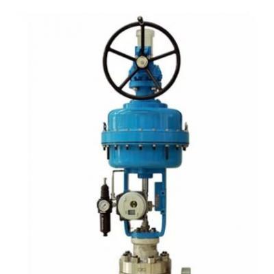 Neles™ top-guided angle valves, series AU