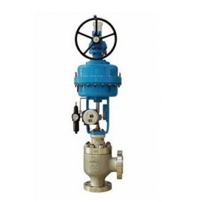 Neles™ Omega™ angle valve, series AM