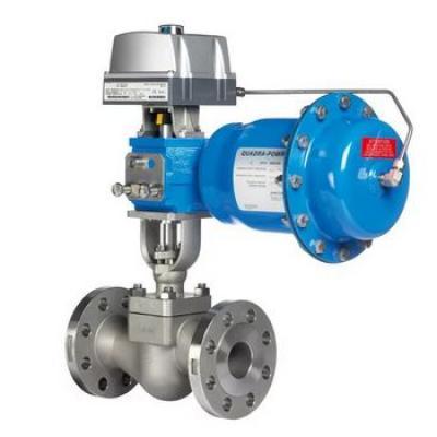 Neles™ RotaryGlobe™ control valve, series ZX