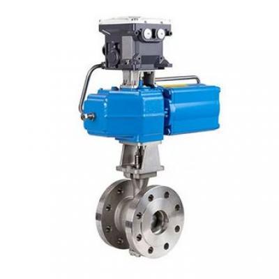 Neles™ V-port segment valve for control applications, R-series
